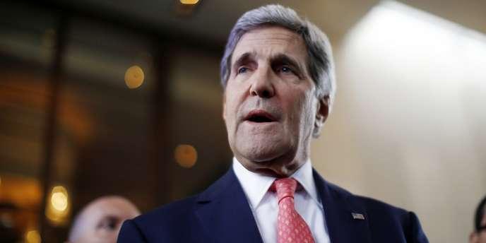 John Kerry, le secrétaire d'Etat américain, le 8 novembre 2013.