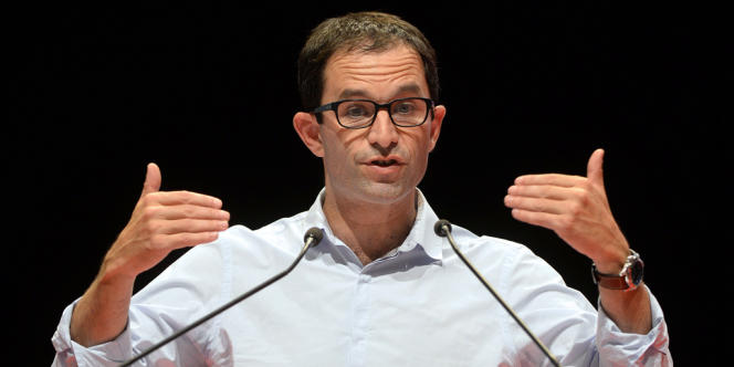 Le ministre de l'économie sociale et solidaire Benoît Hamon en septembre.