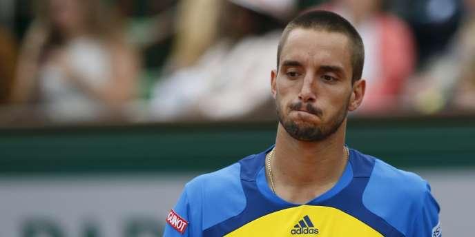 Le Serbe Victor Troicki, en juin dernier, pendant le tournoi de Roland-Garros.
