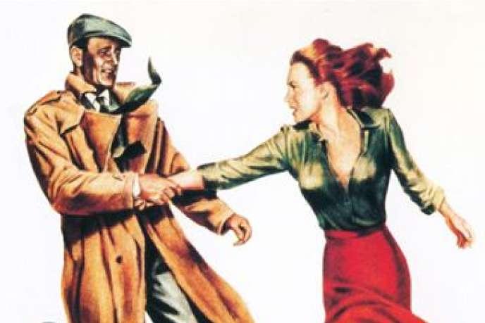 John Wayne et Maureen O'Hara sur l'affiche de