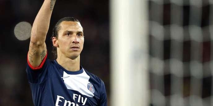 Zlatan Ibrahimovic, auteur d'un triplé, samedi 9 novembre, face à Nice.