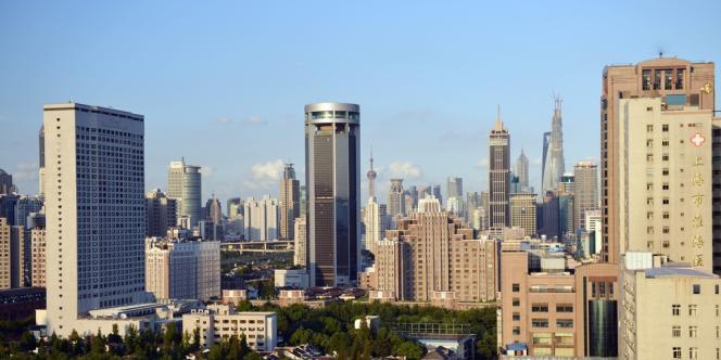 Le centre-ville de Shanghaï, en septembre.