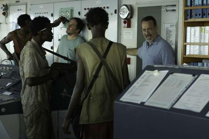 Tom Hanks dans le film américain de Paul Greengrass,