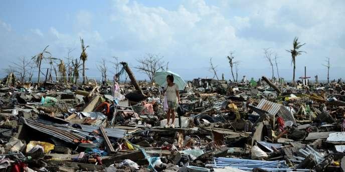 En 2013, la catastrophe la plus sévère d'un point de vue humain a été le typhon Haiyan dans le sud des Philippines, au début de novembre, qui a provoqué la mort de 6 000 personnes.