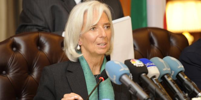 Christine Lagarde, la directrice générale du FMI, le 10 novembre 2013.