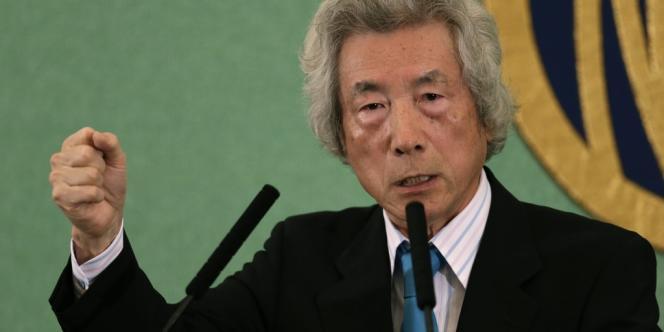 Junichiro Koizumi lors d'une conférence de presse à Tokyo, le 12 novembre.