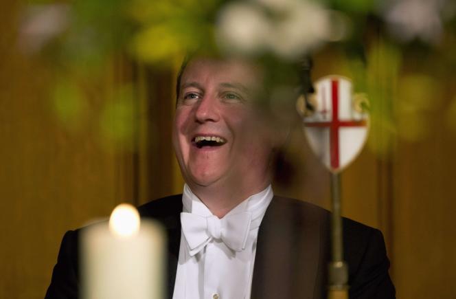 Le premier ministre britannique David Cameron, à Londres, le 11 novembre 2013.