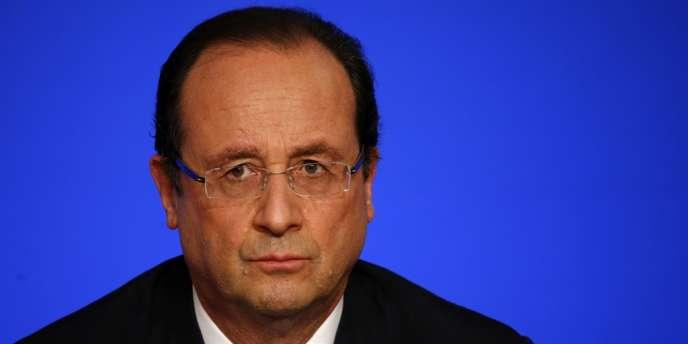 François Hollande, le 12 novembre 2013 à l'Elysée.