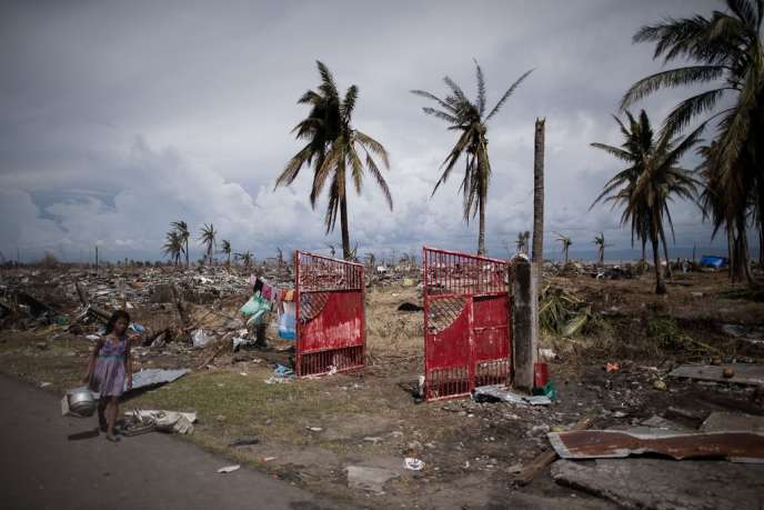 A Tacloban, le 8 novembre.