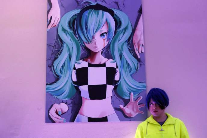 Hatsune Miku, la chanteuse virtuelle créée par le Japonais Keiichiro Shibuya pour son opéra