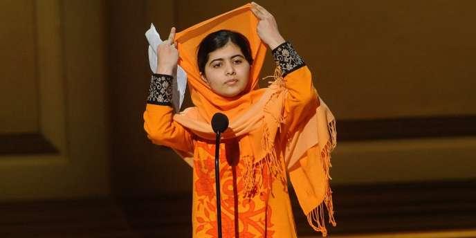 La jeune militante pakistanaise Malala Yousafzai, à la fin de 2013, à New York.