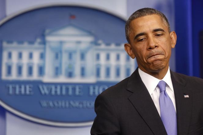 Barack Obama lors de sa conférence de presse du 14 novembre, à la Maison Blanche.