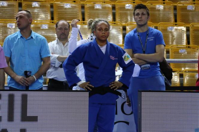 Amandine Buchard, championne de France des -48 kg samedi 9 novembre à Marseille.