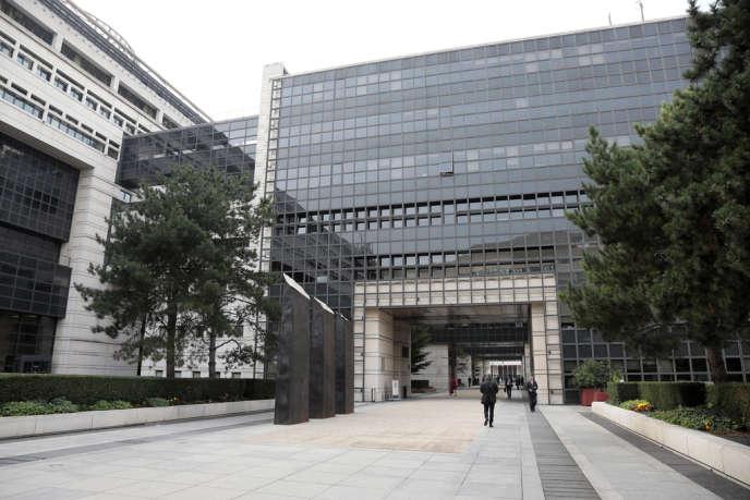 Le ministère de l'économie et des finances, à Paris, dans le quartier de Bercy.