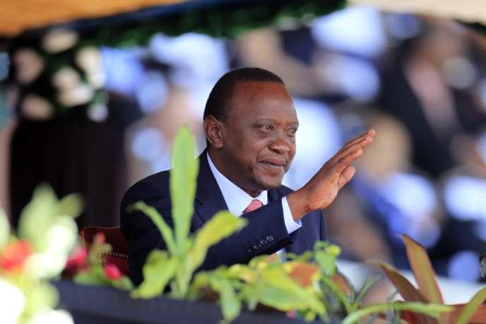 Le président Uhuru Kenyatta, le 20 octobre 2013.
