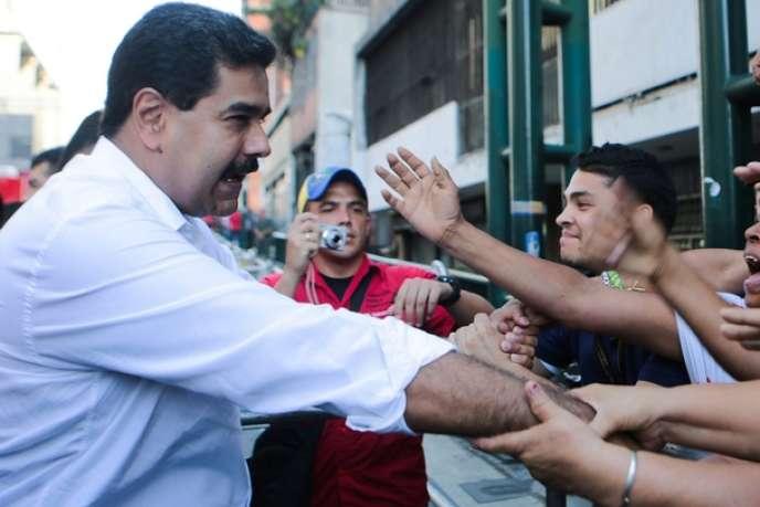 Le président vénézuélien Nicolas Maduro, à Caracas, mardi 12 novembre.