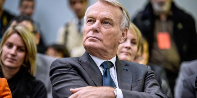 Jean-Marc Ayrault, le 4 novembre 2013 à Saint-Etienne.