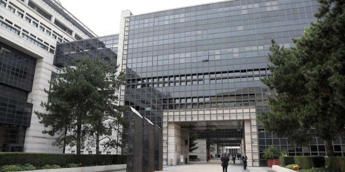 Le ministère de l'économie et des finances de Paris-Bercy.