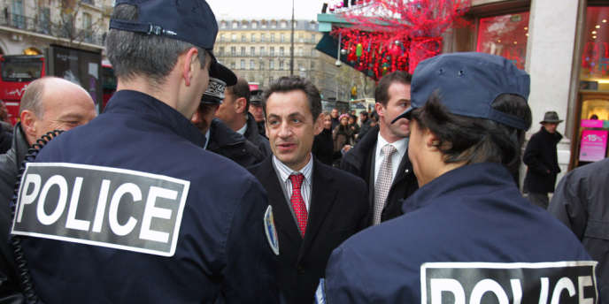 Nicolas Sarkozy, à Paris, en décembre 2005.