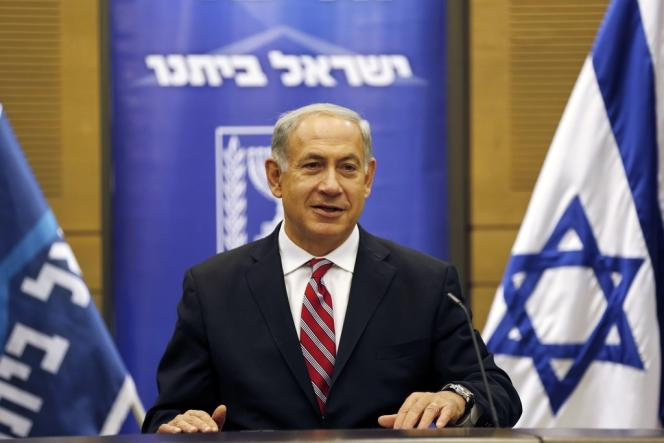 Benyamin Nétanyahou, le 11 novembre à Jérusalem.