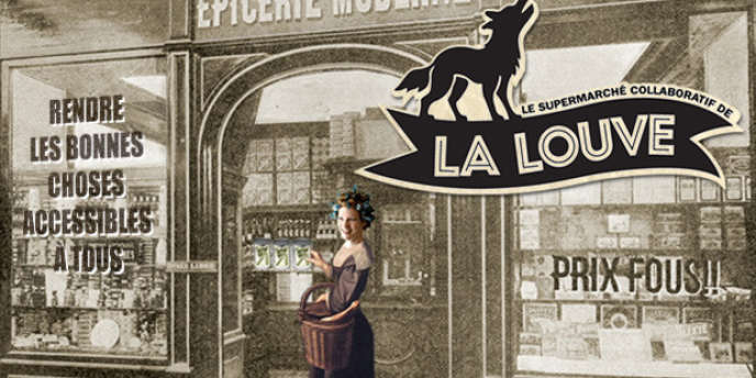 Les fondateurs de La Louve à Paris ont créé un espace de vente de bons produits pas chers en réduisant la part de la main d'oeuvre dans les marges (soit 75% de l'ensemble).