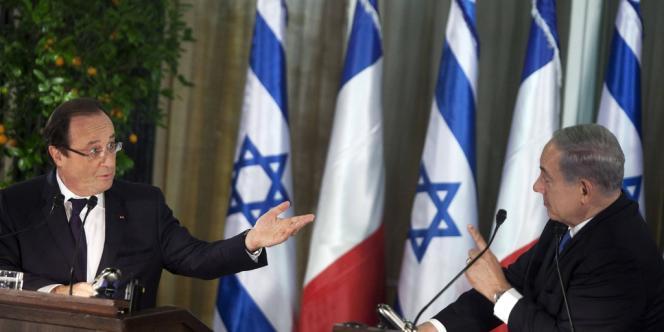 En visite en Israël, François Hollande a notamment exigé de Téhéran qu'il mette