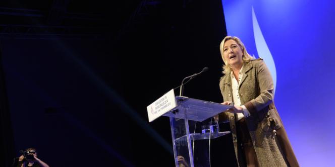 Lors du discours de lancement de la campagne municipale, Marine Le Pen a estimé que les échéances de mars étaient