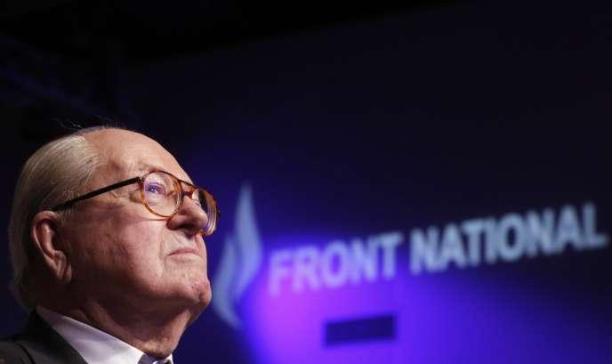 L'ex-président d'honneur du Front national ne veut pas créer « un parti », mais une « formation qui ne sera pas concurrente du FN ».