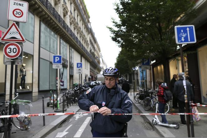 La rue Béranger, où se situe le siège de
