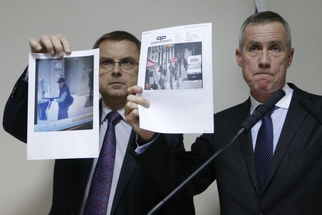 Le procureur de Paris a lancé un appel à témoin et diffusé des photos du suspect.