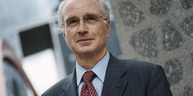 Dominique Maillard, président du directoire du Réseau de transport d'électricité (RTE).