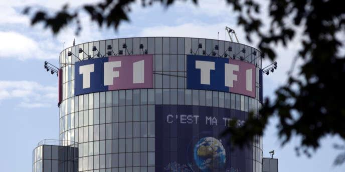 Le siège du groupe TF1, à Boulogne-Billancourt (Hauts-de-Seine), en octobre 2009.