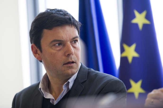 Thomas Piketty, économiste, à l'Assemblée nationale, le 13mars.