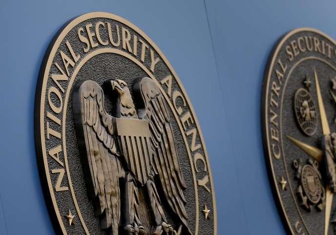 Emblème de la NSA, l'Agence nationale de sécurité américaine.