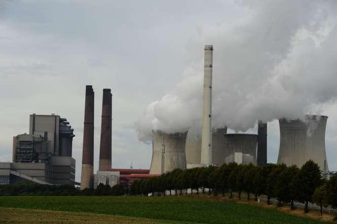 Une centrale à charbon à Grevenbroich, dans l'ouest de l'Allemagne.