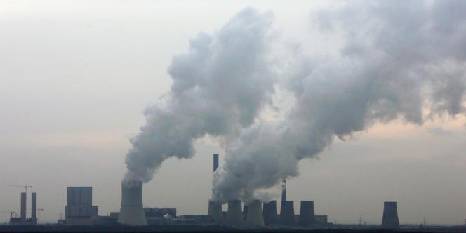 Centrale à charbon de Boxberg en Allemagne.