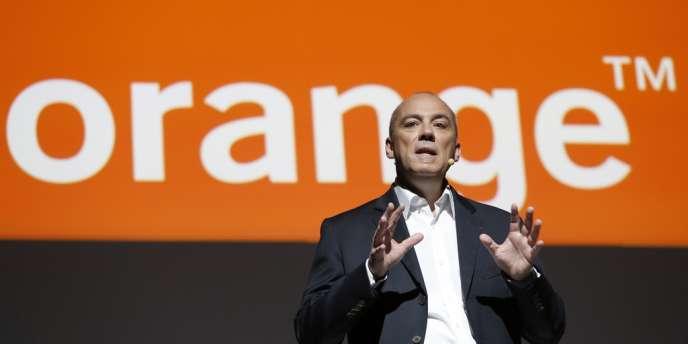 Stéphane Richard, le PDG d'Orange, le 7 novembre 2013.