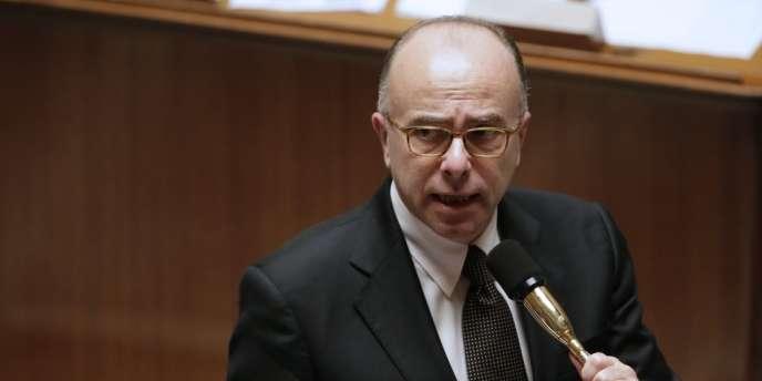 Bernard Cazeneuve, ministre de l'intérieur, à l'Assemblée nationale en novembre 2013.