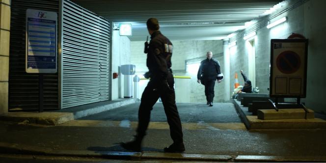 L'homme a été arrêté dans un parking souterrain à Bois-Colombes (Hauts-de-Seine), mercredi 20 novembre.