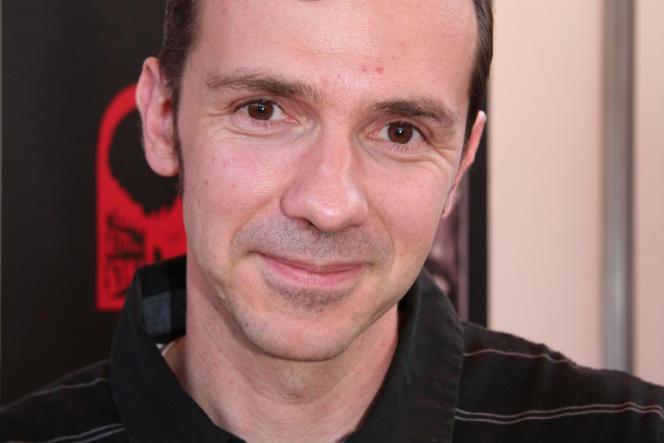 Franck Thilliez en 2009.