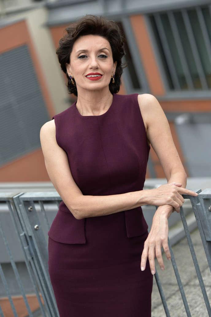 La chanteuse Luz Casal à Paris, le 22 octobre 2013.