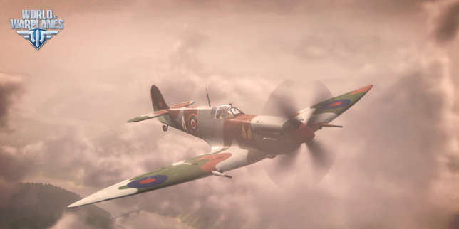 Un appareil britannique de « World of Warplanes ».