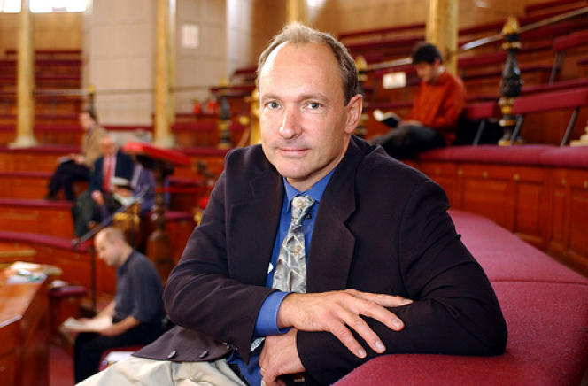 Tim Berners-Lee, l'un des pères fondateurs du Web.