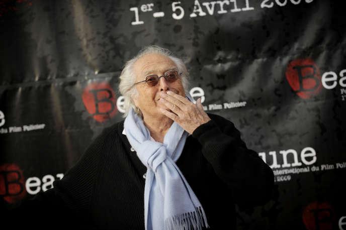 Georges Lautner, le 1er avril 2009 à Beaune.