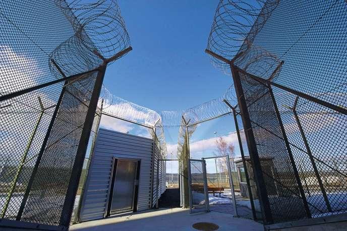 La fermeture des cinq établissements, tous anciens, évite aussi  aux autorités des dépenses de rénovation. Ici, la prison ultramoderne de Saltvik, à Härnösand, inaugurée en avril 2010.