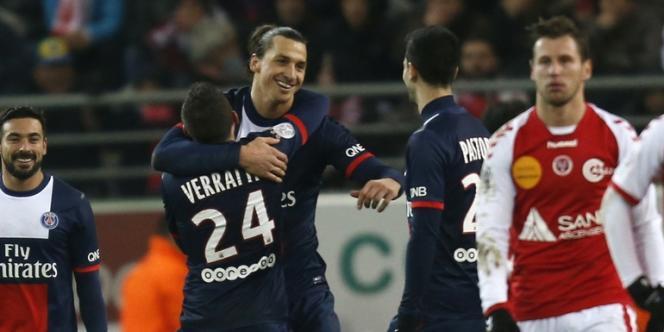 Les Parisiens n'ont jamais douté face au Stade rémois et se sont imposés 3-0, lors de la 14e journée de Ligue 1.
