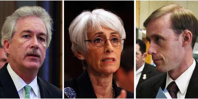 William Burns, Wendy Sherman et Jake Sullivan ont joué un rôle clé dans ces négociations parallèles.