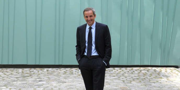 Pascal Demurger, directeur de la MAIF, à Paris, en mai 2013.