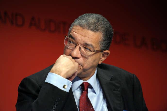 Lionel Zinsou lors d'une conférence à Paris, le 24 novembre 2011.