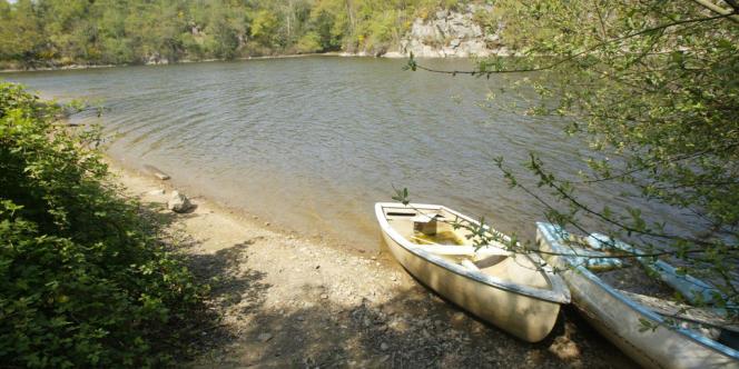 La rivière La Rance en Ile et Vilaine.